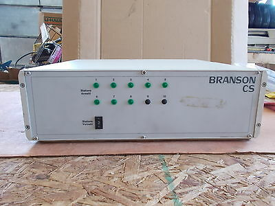 Branson Cs Sonic Power Supply Welding Welder Free Shipping