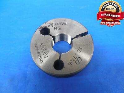 34 48 Ns Thread Ring Gage .75 Go Only P.d. .7365 Quality Inspection Tool .750