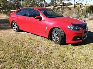 2013 Holden Commodore VF SV6 Red 6 Speed Sports Automatic Sedan