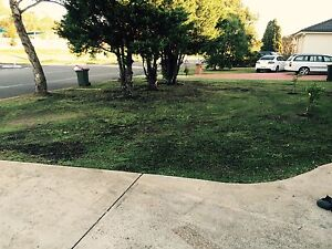 Old Fashion Lawn Mowing Service Raby Campbelltown Area Preview