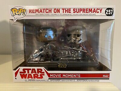 Funko Pop! Star Wars #257 Rematch on the Supremacy Movie Moment TLJ