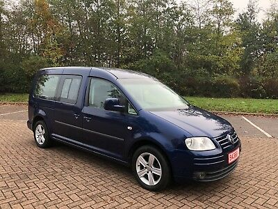 2009 VOLKSWAGEN CADDY MAXI LIFE 1.9D WAV WHEELCHAIR ACCESSIBLE VEHICLE DISABLED