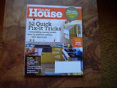 This Old House Magazine March 2011