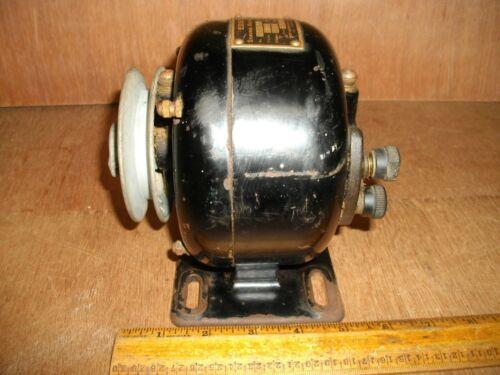 T791 Antique EDISON Shaving Machine Electric Motor AC 1/20 HP