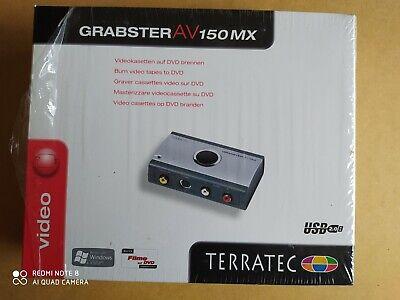 Video Grabber Terratec Grabster AV150 MX, Analoge Videos digitalisieren, USB