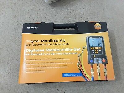 Testo 05631550 Digital Manifold Kit With Bluetooth