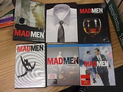 Mad Men DVDs Seasons Seasons 1 to 6 - LOTF