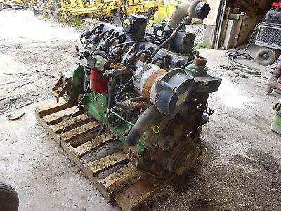 John Deere 6081 Ng Complete Core Engine 2 Avail Natural Gas Lpg 8.1