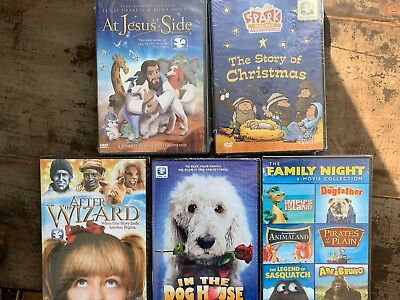 DVD lot New Free Ship At Jesus Side Story Christmas In Dog House Impys Island