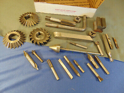 Lot Drill bits metal router wheels handle workshop woodworking tools 45 ING HS7