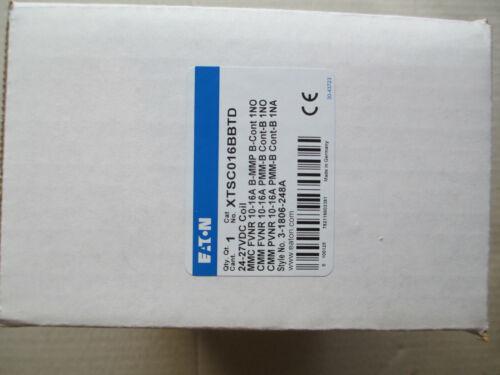 EATON CUTLER HAMMER  XTSC016BBTD  3-1806-248A  10-16 Amp Motor Starter