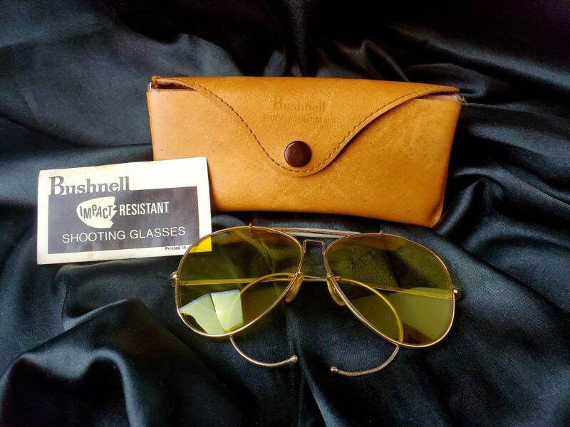 Bushnell Aviator Shooting Range Glasses Yellow