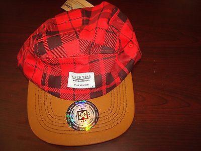 Belt Adjustable Hat (MAKER WEAR PLAID BELT BUCKLE   BEACH SURF HAT CAP ADJUSTABLE)