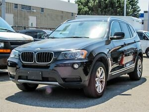 2013 BMW X3 WITH SPORT PACKAGE