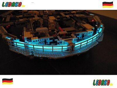 Beleuchtungsset für 75192 UCS Lego® Millenium Falcon LED Star Wars von ledako ()