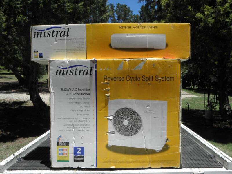 Airconditioner Mistral 8 0kw Reverse Cycle Split System  | Air