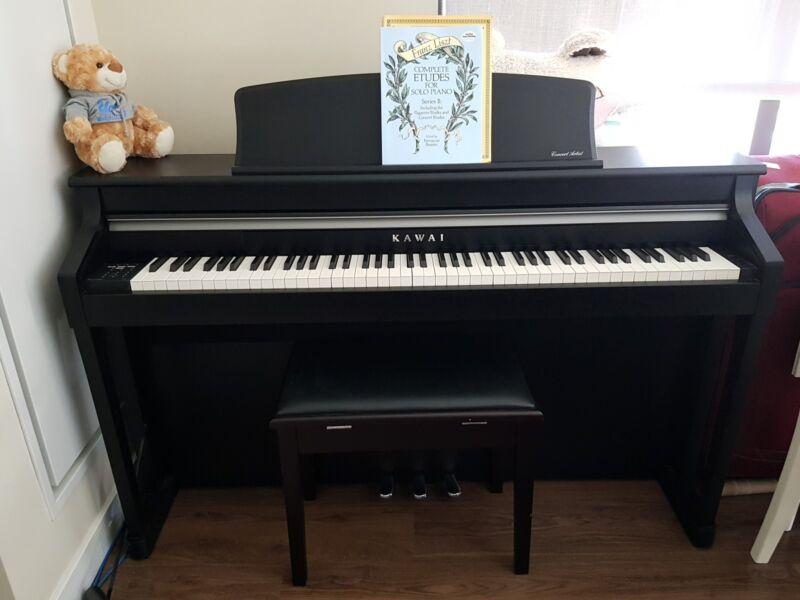 Kawai CA-95 Concert Artist Digital Upright Piano