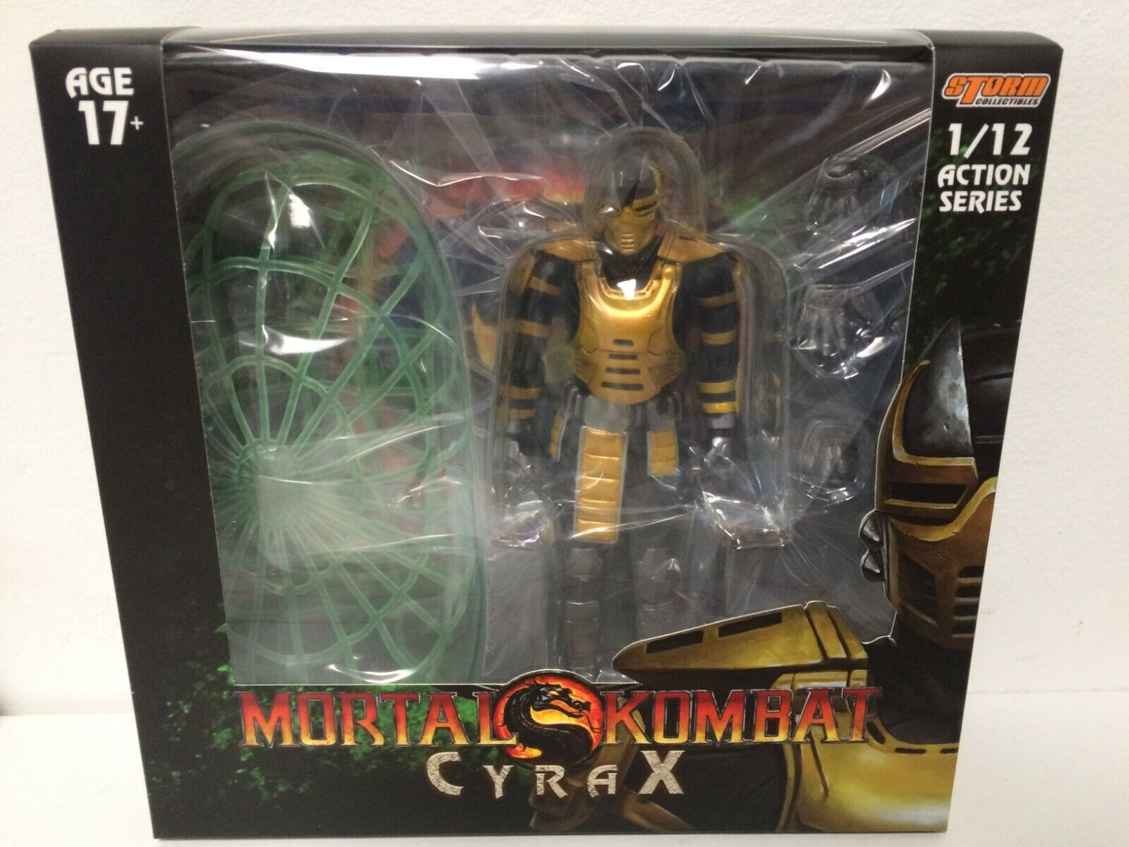 AUTHENTIC Storm Collectible 1/12 Scale MORTAL KOMBAT CYRAX A