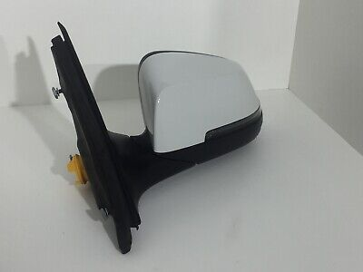 2014 2015 2016 BMW 528i LEFT DRIVER  SIDE VIEW MIRROR  OEM WHITE