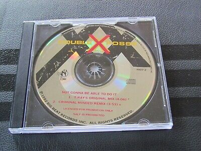 Double XX Posse Promo CD Single Not Gonna Be Able To Do It Remix