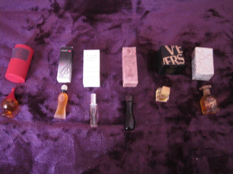 Miniature Perfume Lot of 6