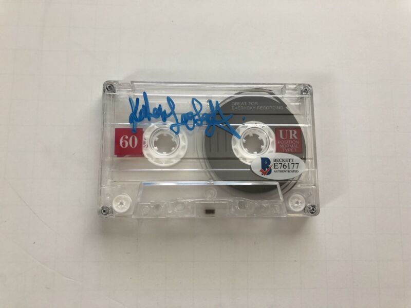 Katherine Langford Signed Tape 13 Reasons Why Autograph BAS COA BECKETT