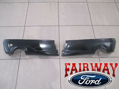 2019 Ford F-150 OEM Ford Rear Painted Step Bumper w/ Prox Sensors LIMITED MODEL ()