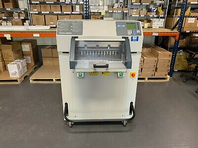 Challenge Titan 200 Programmable Hydraulic Paper Cutter - 2004 - Fully-serviced