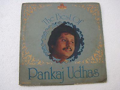 The Best of Pankaj Udhas Ghazals Hindi LP Record Bollywood (Best Of Pankaj Udhas Ghazals)
