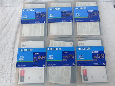 6 Brand New Fujifilm D5001 D-5 12M X-D Digital Broadcast Quality Video...