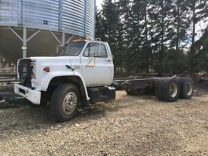 1980 Chevrolet tag axle truck