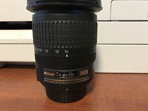 Nikon 10-24mm 3.5-4.5G DX Wide Angle Lens