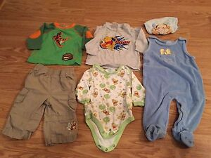 Winnie the Pooh Baby Boy Clothing - 3-6 Months