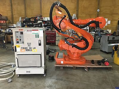 Abb Robot Abb 7600 Robot With S4c Controller Abb Robotics Fanuc Robot