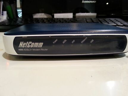 Netcomm NB6 Rev2 ADSL2+Modem Router  City North Canberra Preview