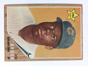 1962 LOU BROCK ROOKIE CARD BASEBALL CARD COLLECTABLE