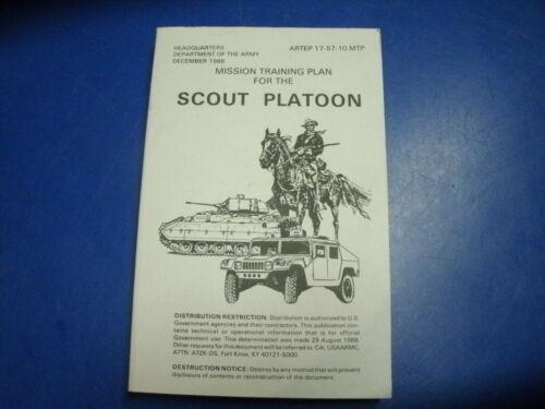 MANUAL SCOUT PLATOON ARTEP 17-57-10 MTP DEC 1988