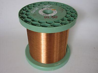 34 Awg 14.50 Lbs. Elektrisola S155 Enamel Coated Copper Magnet Wire