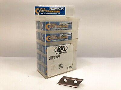 Big Daishowa Seiki Cw1909a New Carbide Inserts Grade 11pcs