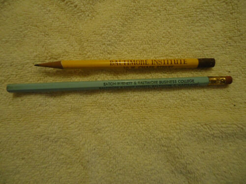 Baltimore Institute  / Eaton Burnett & Baltimore Business College pencil group