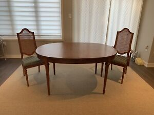 Dining table - all wood, mid-century