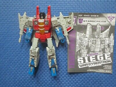 Transformers Generations Starscream Siege War For Cybertron Voyager Class Hasbro