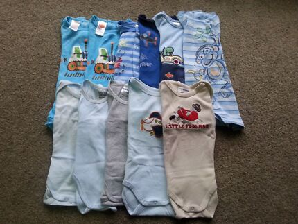 Boys summer Onesies - size 000 Heathwood Brisbane South West Preview