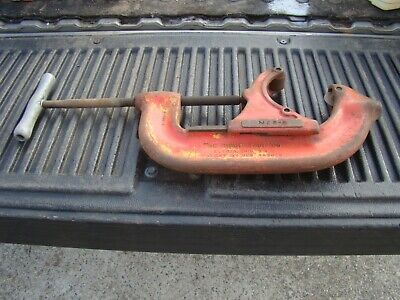 Very Large Ridgid No. 6-s Heavy Duty Pipe Cutter Cuts 4 - 6 Pipe