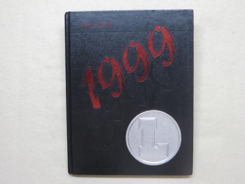 1999 LAHAINALUNA HIGH SCHOOL YEARBOOK LAHAINA HI