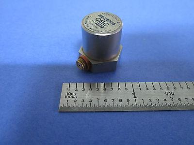 Cec Model 4-271-0001 Piezoelectric Accelerometer Calibration Vibration