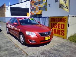 2008 Toyota Aurion Sedan 1 Year Warranty Woy Woy Gosford Area Preview
