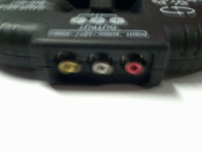 AUDIO und VIDEO Umschaltpult f. 3 Stereo + Videogeräte an 1 Anschluss, kompakt!