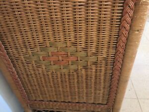 Lovely cane chest of drawers