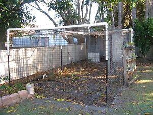 Chicken coop and chicken run Golden Beach Caloundra Area Preview